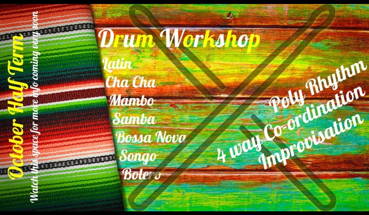 Latin Drum Workshop