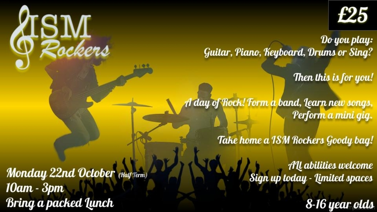 ISM ROCKERS  - ROCK BAND WORKSHOP